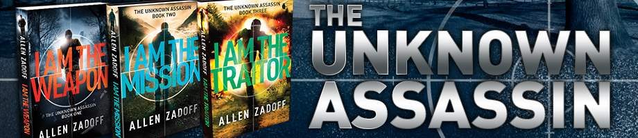 The Unknown Assassin Trilogy by Allen Zadoff